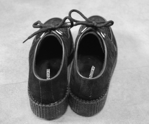 black and white, platforms, and creepers image