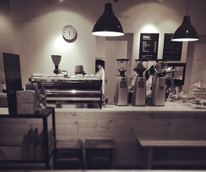 coffee and shop image