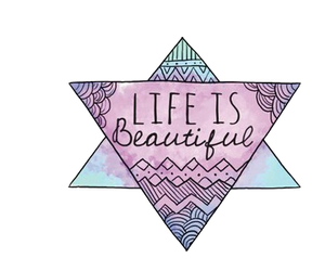 life, beautiful, and overlay image