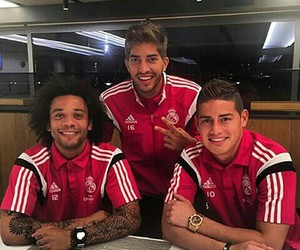 real madrid, marcelo, and lucas silva image