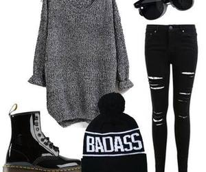 fashion, badass, and outfit image