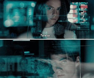teresa, thomas, and the maze runner image