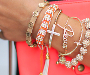 bracelet, peace, and accessories image