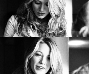 blake lively, gossip girl, and serena woodsen image