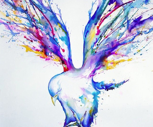 beautiful, draw, and purple image