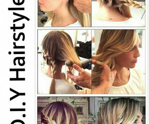 beaty, hairstyle, and pretty image