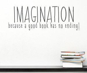 book, books, and imagination image