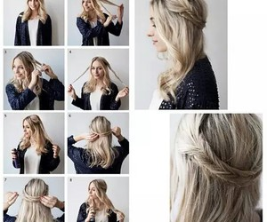 do it yourself, girls, and hair image