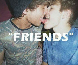 gay, love, and friends image