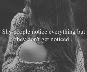 shy, quotes, and people image