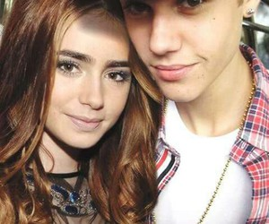 justin bieber, danger, and lily collins image