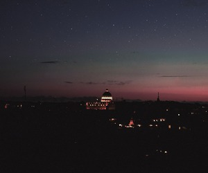 night, sky, and city image