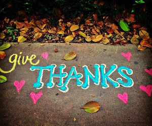 give and thanks image