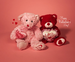 love, valentine, and red image
