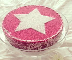 cake, pink, and simple image
