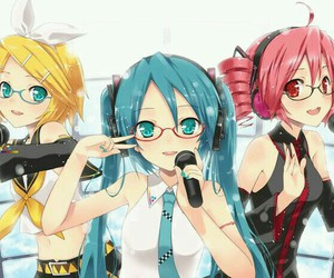miku, vocaloid, and rin image
