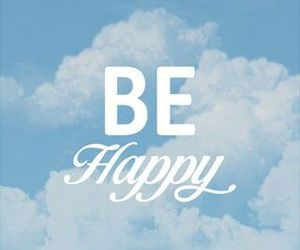 happy, sky, and clouds image