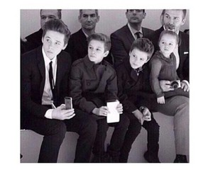beckham, family, and David Beckham image