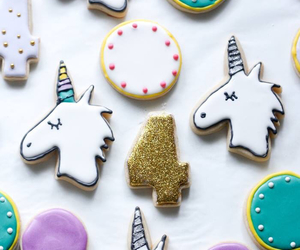 Cookies, food, and unicorn image