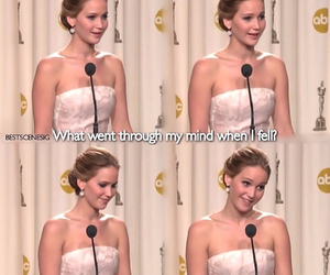 funny and Jennifer Lawrence image