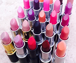fashion, lips, and mac image