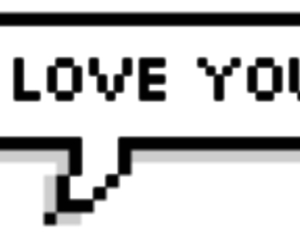 overlay, pixel, and speech bubble image