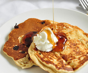pancakes, food, and yummy image