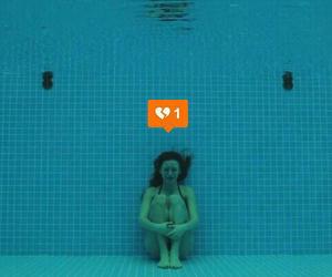 grunge, broken, and pool image