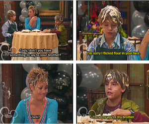 z and zack and cody image