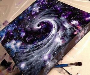 art, sky, and disegni image