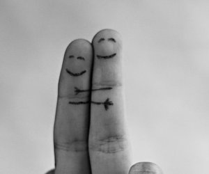 fingers, friends, and love image