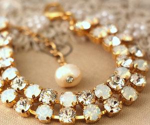 bracelet, bridal, and fashion image