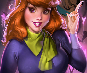scooby doo, daphne, and daphne blake image
