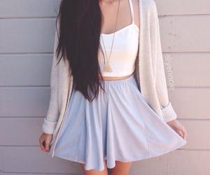 skirt and teen fashion image