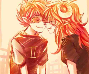 homestuck, aradia, and sollux image