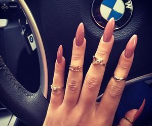 nails, bmw, and car image