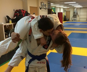 couples, karate, and martial arts image