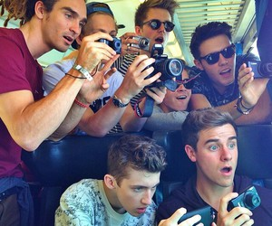 troye sivan, connor franta, and marcus butler image