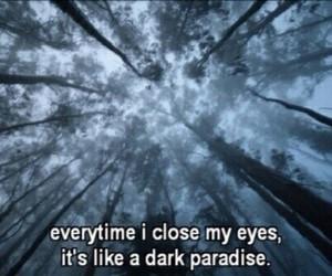 lana del rey, dark paradise, and quote image