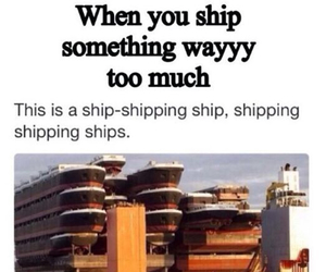 ship and shipping image
