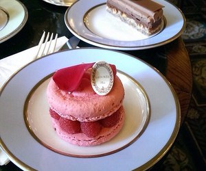 cake, delicious, and laduree image