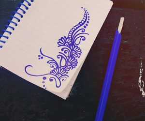 <3, bic, and blue image