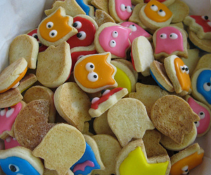 Cookies, food, and pacman image