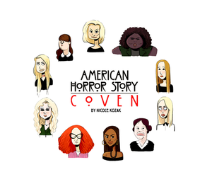 coven, Witches, and ahs image