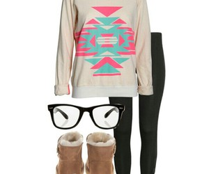 legging, outfit, and Polyvore image