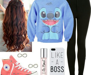 converse, hair, and Polyvore image