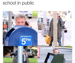 funny, public, and school image