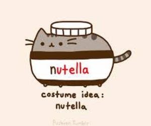 nutella, cat, and pusheen image