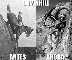 downhill and mtb image