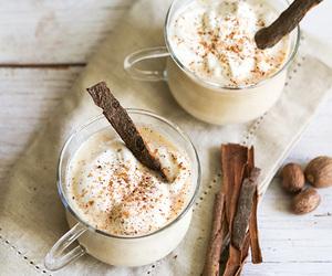 Cinnamon, drink, and food image